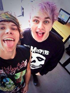 Ashton and Michael