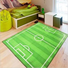 Find More Rug Information about 100cm*130cm Children Football Field Gate Carpet World Cup Stadium Carpets Living Room Superstar  Parlor Rug Bedroom MatTMJC004,High Quality bedroom rug,China c rug Suppliers, Cheap bedroom carpet from Household Products wholsale and Retail on Aliexpress.com