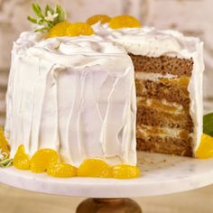 Enjoy Dole's recipe for Dole Whip Cake. Explore this recipe and many more on the new Dole Sunshine website where fresh creations are never far away! Pineapple Poke Cake, Pineapple Dessert Recipes, Mini Dessert Recipes, Mini Desserts, Pineapple Upside, Pineapple Coconut, Dessert Ideas, Cake Ideas, Poke Cakes