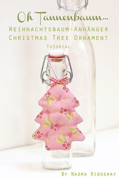 Christmas Tree Ornament Tutorial by ellis & higgs, via Flickr