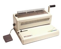"Akiles MegaBind-1E 14"" Plastic Combs Binding Machine Electric Punching"