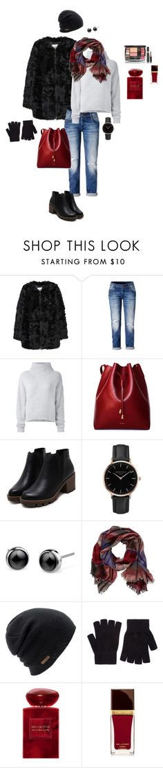 """Fur coat"" by ulusia-1 ❤ liked on Polyvore featuring MANGO, Le Kasha, Topshop, TravelSmith, Coal, Accessorize, Giorgio Armani and Tom Ford"