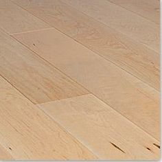"Warehouse Clearance Engineered Wood Narrow Board Floors Maple Classic / 3 1/2"" / 3/8"" / Random Lengths"