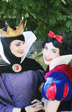 Snow White & The Evil Queen by jacobsphotopass on Flickr.