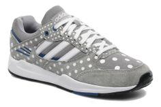 Women's Adidas Originals Tech Super Ef W Trainers In Grey - Size 5