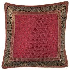 India decorative silk cushion covers decorative pillows for Zuhaus 30 cm x 30 cm: Amazon.de: Kitchen & Home