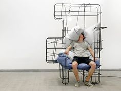 michael tomalik forms fort-like furniture for designblok