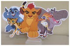 Lion Guard Group Centerpiece Kion The Lion Guard Party Kion