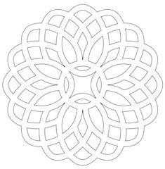 Трафареты на окна к Новому году 2020 - рисунки и шаблоны для вырезания Embroidery Patterns Free, Embroidery Designs, Paper Snowflakes, Mandala Coloring Pages, Silhouette Art, Stencil Diy, Celtic, Stained Glass Patterns, Geometric Art