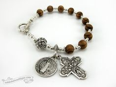Hey, I found this really awesome Etsy listing at https://www.etsy.com/listing/200137155/saint-benedict-medal-catholic-rosary