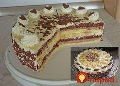 Banana Split, Torte Au Chocolat, Chocolate Torte, Ice Cream Candy, No Bake Cake, Cake Cookies, Tiramisu, Cheesecake, Deserts
