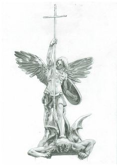 St. Michael's Victory over the Devil by karackoma