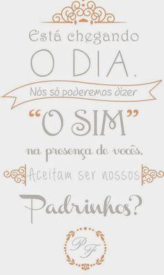 Blog Worspite Noivas: Download de Convites para Madrinhas & Padrinhos