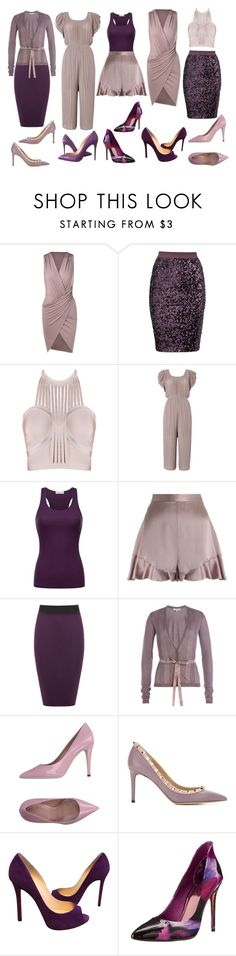 """Untitled #296"" by nacet ❤ liked on Polyvore featuring By Malene Birger, LYDC, Zimmermann, WearAll, Etro, Valentino, Christian Louboutin and Ted Baker"