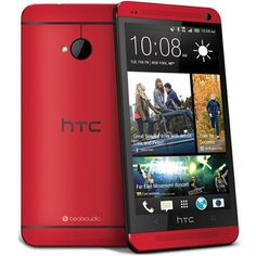 HTC One M7 Red smartphone 32GB brand new unlocked