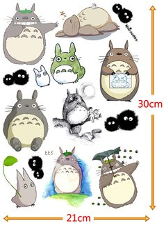 Cheap sticker accessories, Buy Quality stickers dog directly from China sticker gel Suppliers:  Totoro Cute Sticker      Content: 6 pieces/lot (2 pattern, each pattern contains 3 pieces)              Piece&nbs