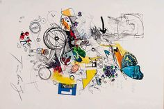 artwork by Jean Tinguely
