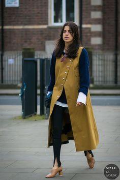 Leandra Medine Street Style 2017, Street Chic, Street Styles, Fashion Lookbook, Fashion Trends, Street Looks, Leandra Medine, Sleeveless Jacket, Style Snaps