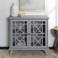 Shop for Copper Grove Loches Fretwork Entryway Console - 32 x 16 x Get free delivery at Overstock - Your Online Furniture Shop! Get in rewards with Club O! Entryway Storage Cabinet, Entryway Console, Buffet Console, Sideboard, Online Kitchen Store, Glass Cabinet Doors, Glass Door, Online Furniture Stores, Dining Room Bar