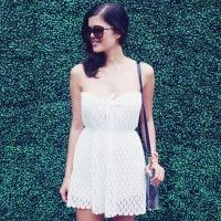 DIY LACE ROMPER for grown ups / women. :) adorable. I like the idea of this but make the lace overlay an actual skirt with the solid opaque shorts underneath! Or make as is. FREE sewing pattern & tutorial!