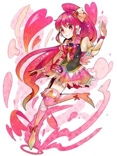 Cure Lovely fanart