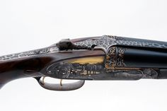 Borovnik double barrel rifle