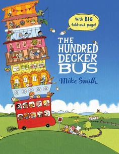 Bus Driver Decided to Try a Different Way, not following the daily routine.  The Hundred Decker Bus by Mike Smith http://www.amazon.co.uk/dp/0230754589/ref=cm_sw_r_pi_dp_fkUuub1BS3NK6
