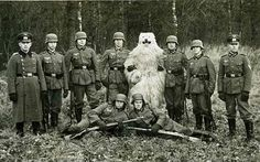 Nazi's love fake polar bears. Click the link to see a series of them. Weird.