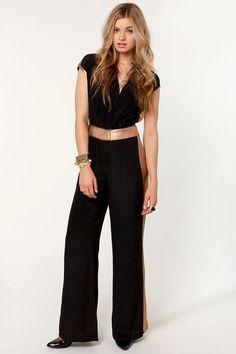 Black Dressy Jumpsuit Photo Album - Reikian