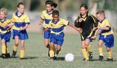Youth soccer coaching games