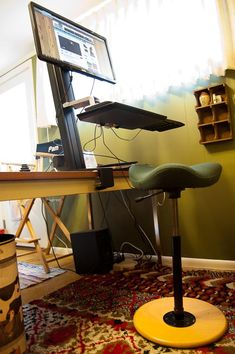 ergonomic desk chair by Stokke