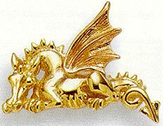 Welsh gold dragon  Welsh gold is known to have been mined by the Romans and to this day is mined by hand. Worn by early Welsh princes as a badge of rank, the tradition is echoed today with wedding rings of a number of Royal brides     http://www.wales-calling.com/mining.htm#