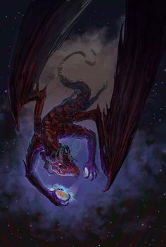 space dragon Bilous Bohdan