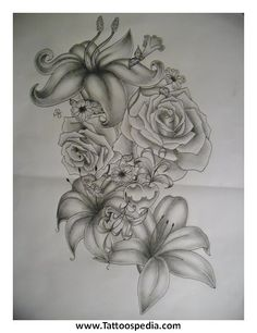 flower tattoos tumblr - Google Search