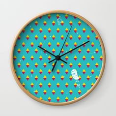 Buy #014 OWLY space travel Wall Clock by owlychic. Worldwide shipping available at Society6.com. Just one of millions of high quality products available. #livingrooms #products #today #owlychic  #livingrooms #decors #building #product #clock #wall #wallclocks