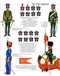 Empire, Army Uniform, French Army, French Revolution, Napoleonic Wars, Troops, History, Flags, Pom Poms