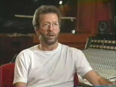 "Eric Clapton ""From The Cradle"" Studio Interview #1"