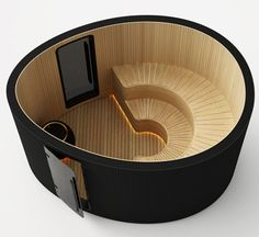 OVO Sauna – By Swedish designer Johan Kauppi Introduction OVO Sauna is inspired by one of nature's most complete forms. The design expresses the essence of sauna baths with its beautifu… Swedish Sauna, Finnish Sauna, Traditional Saunas, Yurt Living, Sauna Design, Relaxation Room, Luxury Spa, Ways To Relax, Natural Shapes