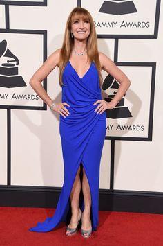 Jane Seymour #Grammys red carpet dresses 2016