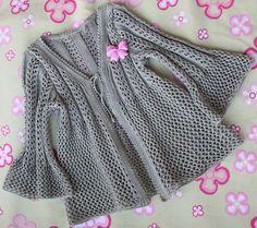 Lace summer cardigan