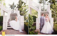 Kansas City Wedding Photographer The National KC Bride & Groom Bride & Groom Pose Pink Wedding Bouquet
