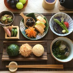 休日の朝ごはん Japanese Dishes, Japanese Food, Cute Food, Yummy Food, Table D Hote, Asian Recipes, Healthy Recipes, Korean Food, Food Design