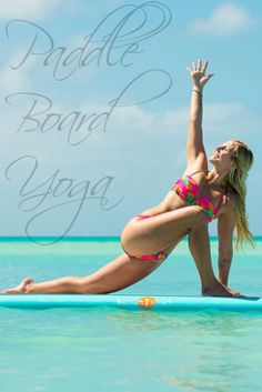 paddle board yoga  an introduction for beginners