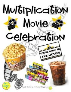 Multiplication Movie - Fact Memorization / Memorizing & Fl