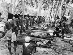 The Natives of the many Pacific Islands, were a great source of help to Allied soldiers.