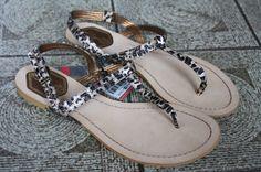 leopard print sandles