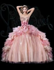 Detachable Champagne Pink multi 2016 new sweet 15 dress fully beaded ruffles quinceanera ball gown BS-1501 http://www.topdesignbridal.net/detachable-champagne-pink-multi-2016-new-sweet-15-dress-fully-beaded-ruffles-quinceanera-ball-gown-bs-1501_p3850.html