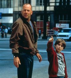 Bruce Willis in Mercury Rising, one of the growing up in 90's memories.
