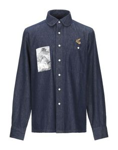 Vivienne Westwood Anglomania Denim Shirt In Blue Denim Button Up, Button Up Shirts, Vivienne Westwood Anglomania, Denim Shirt, Mens Fashion, Shirt Dress, Long Sleeve, Mens Tops, Jackets
