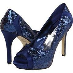 Blue Wedding Shoes - Weddbook